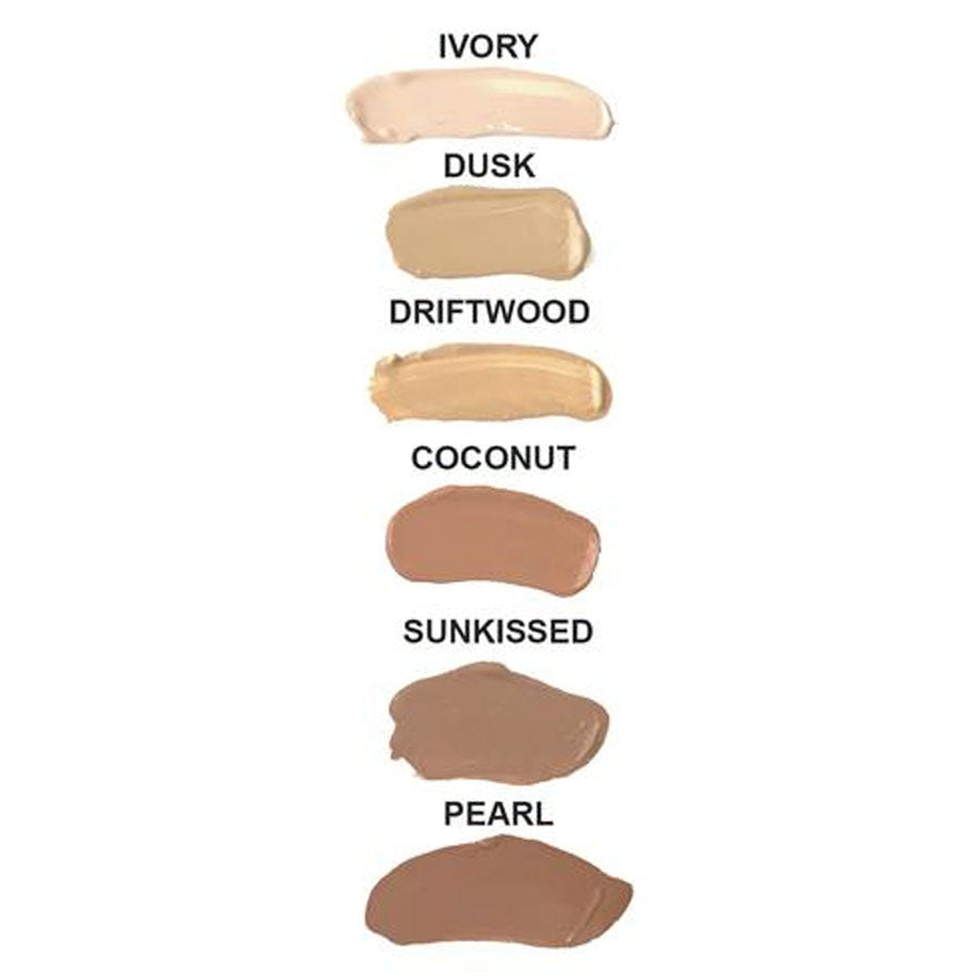 Zuii Certified Organic Lux Flawless Foundation Colours