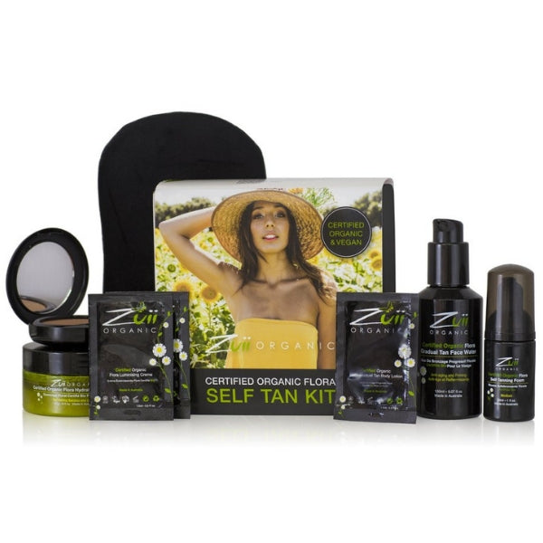 Zuii Certified Organic Flora Self Tan Kit