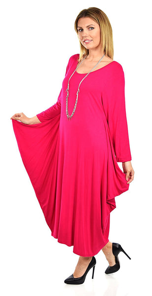 0fb461d42e Lagenlook Plus Size Summer Dress Quirky Loose Fitting – Dare2Bstylish