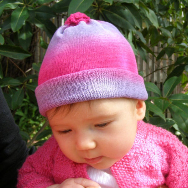 Hand dyed BabyBeanies and Rainbow Shawls -Healing Colours 782d5f99691c