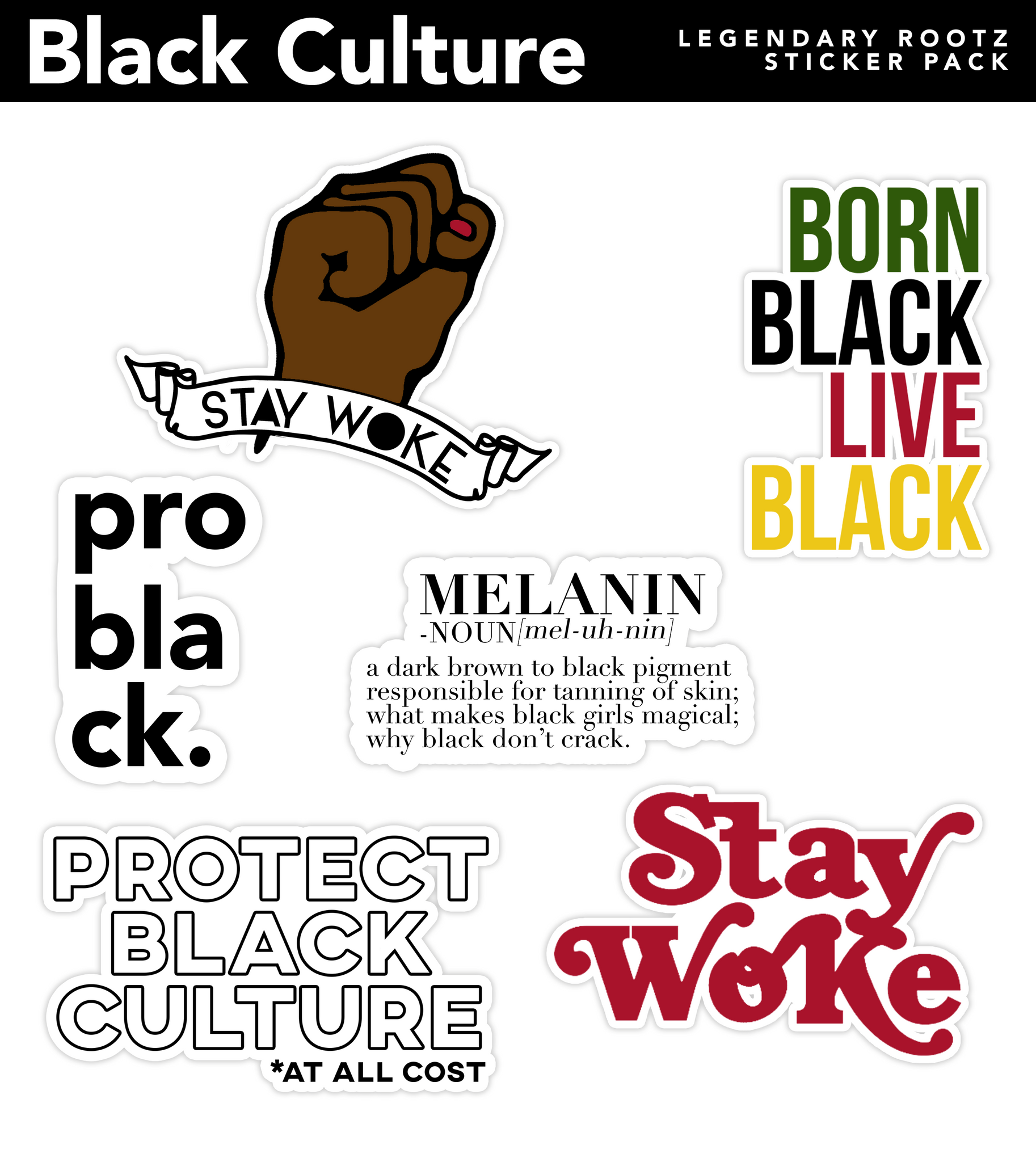 Black Culture | Sticker Pack