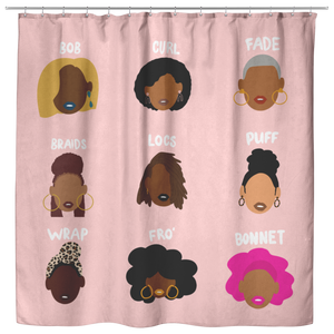 Good Hair | Shower Curtain