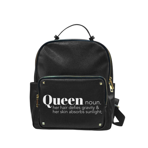 Queen Leather Backpack