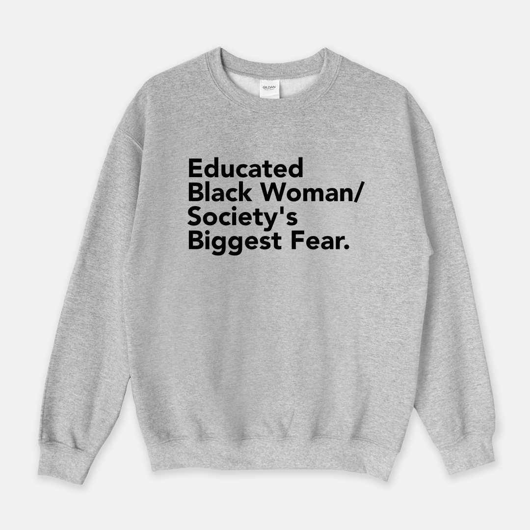 Educated Black Woman | Crewneck