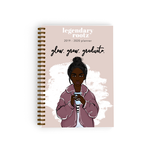 Grow. Glow. Graduate. Bullet Journal