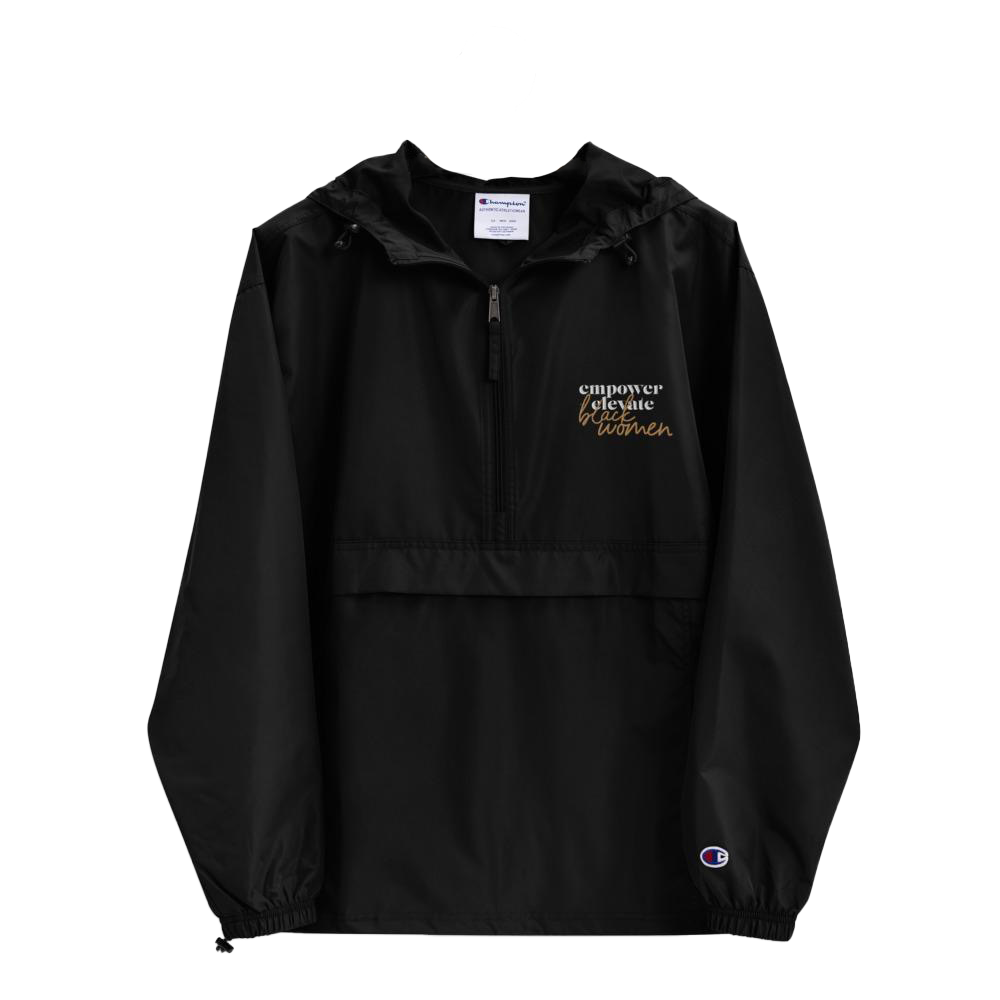 Empower + Embrace Black Women | Embroidered Windbreaker