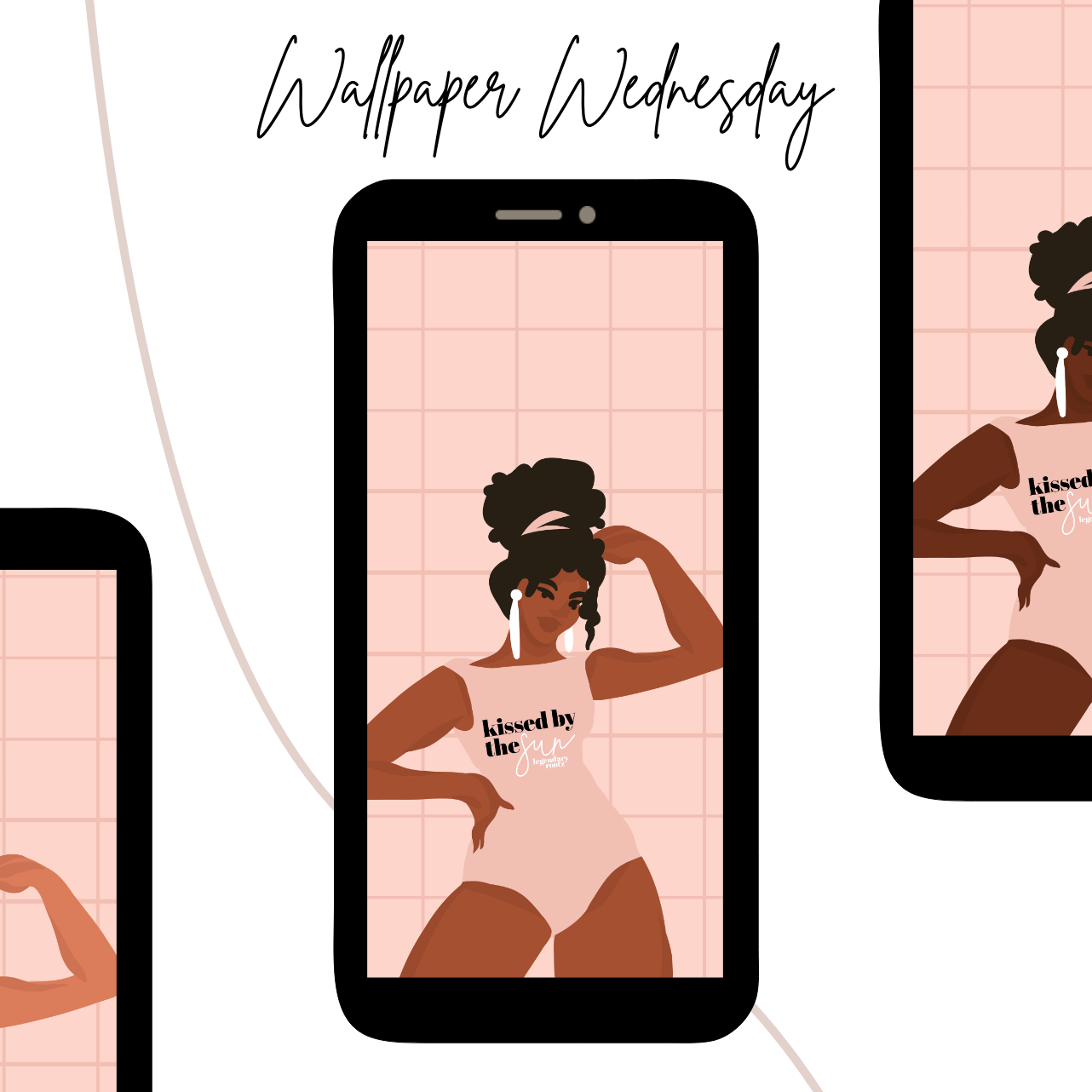 Kissed By The Sun | Wallpaper Pack