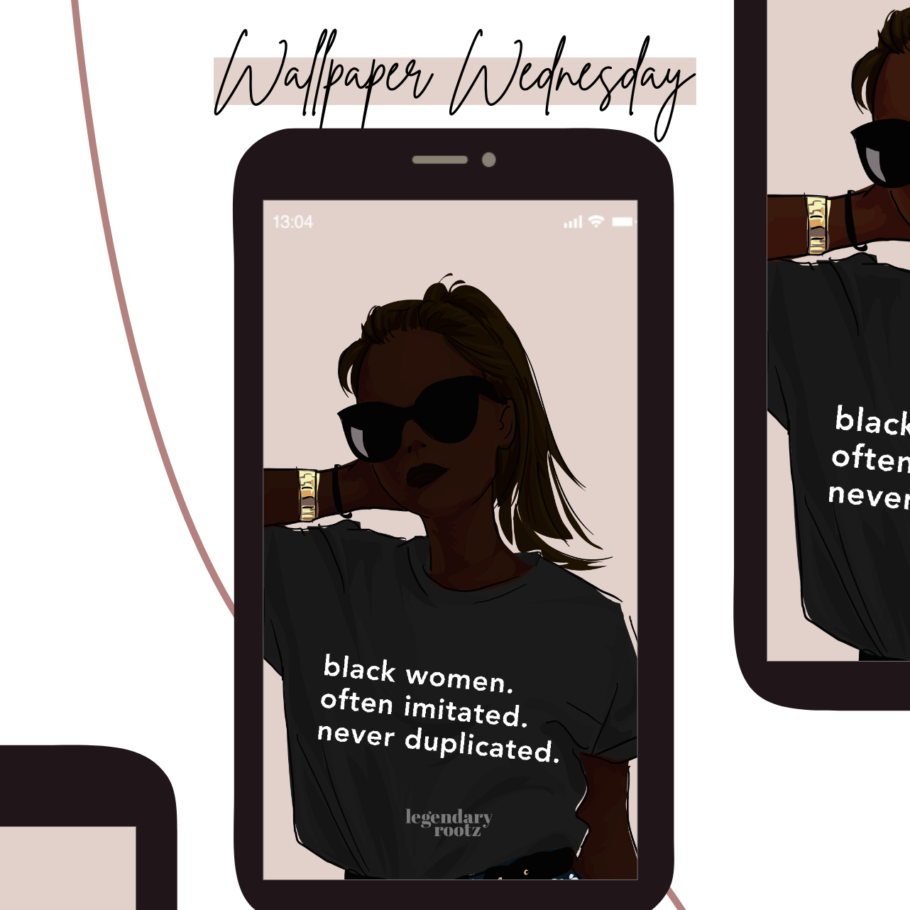 Black Women Are The Blueprint | Wallpaper Pack