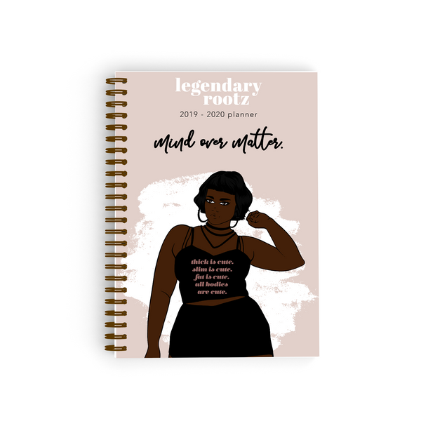 Mind Over Matter Curvy Bullet Journal