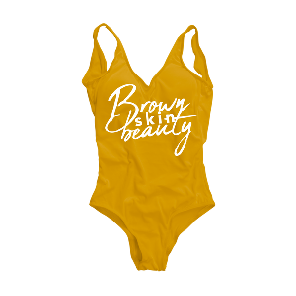 Brown Skin Beauty Swimsuit