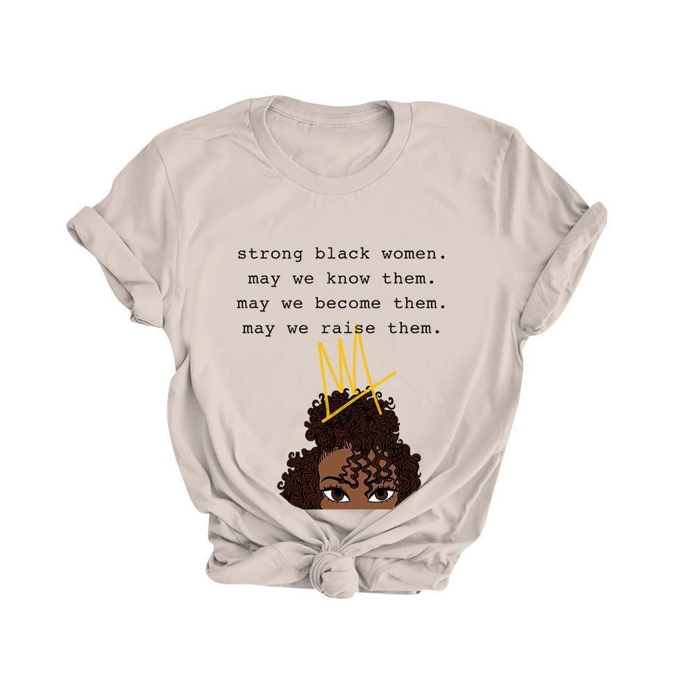 Strong Black Women | Tee - Legendary Rootz