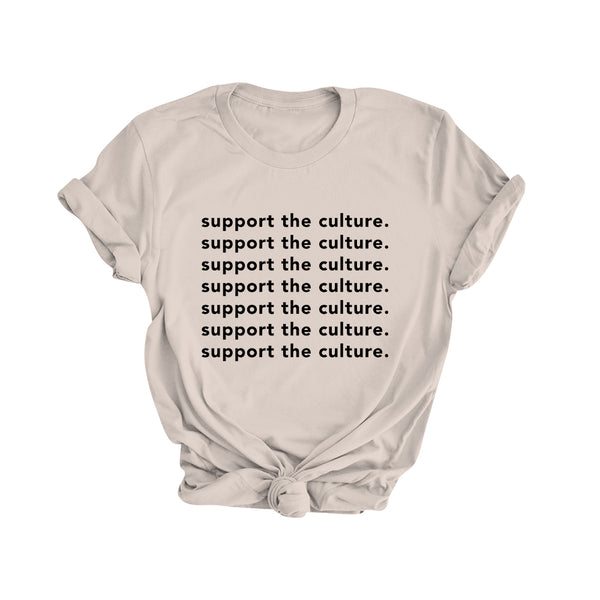 Support the Culture | Classic Tee