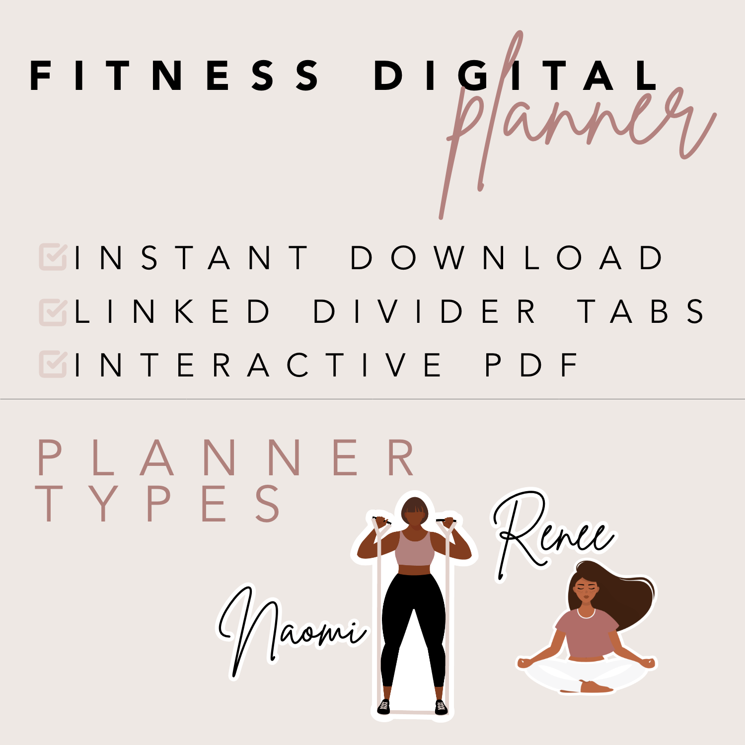Fitness Digital Planner