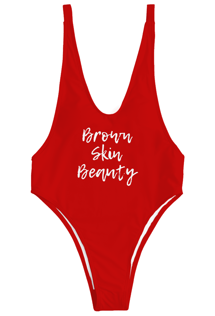 Brown Skin Beauty | Bodysuit