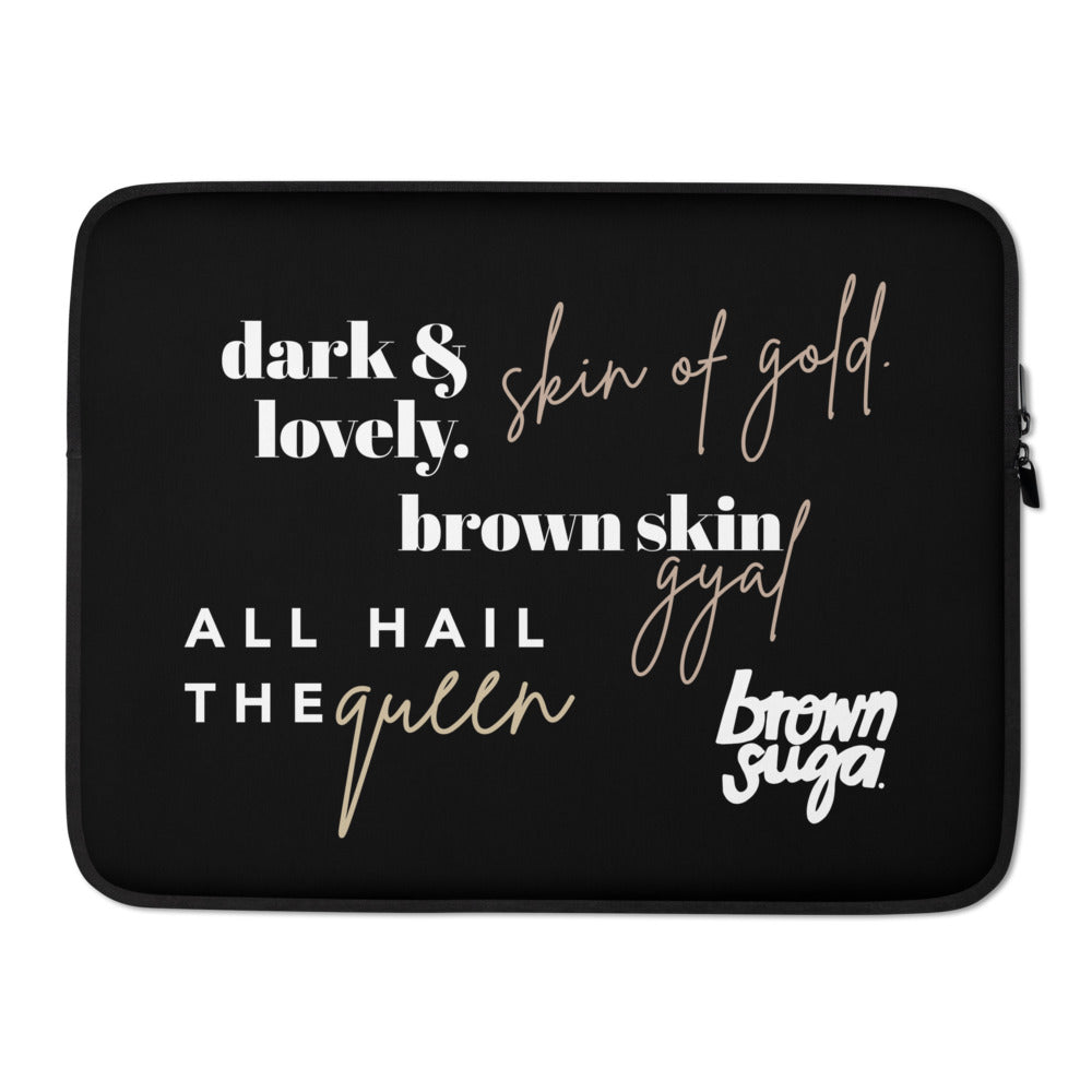 Brown Skin Gyal Collage | Laptop Sleeve