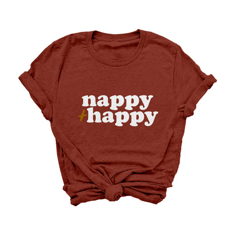 Nappy + Happy | Signature Tee
