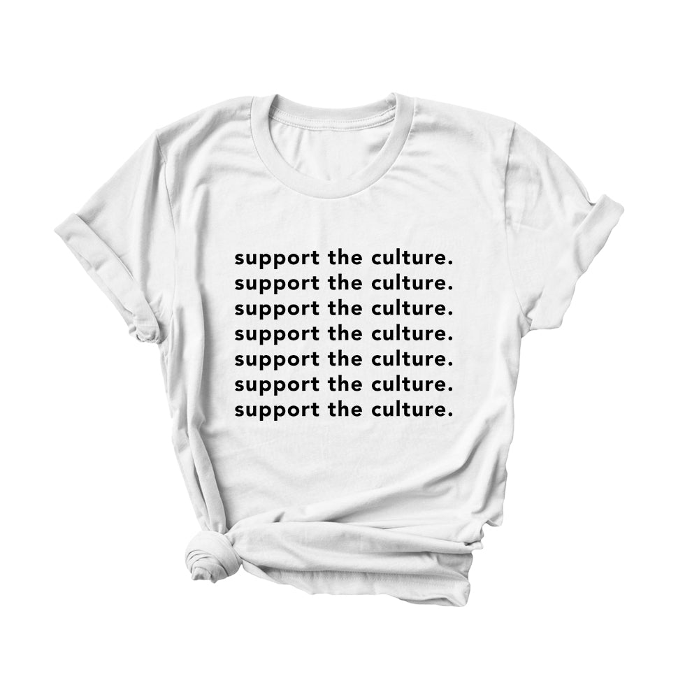 Support the Culture | Graphic Tee