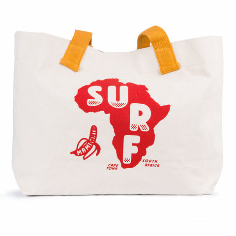 Surf Africa Tote Bag - Red