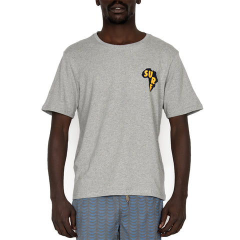 Mens Grey Surf Africa Tee