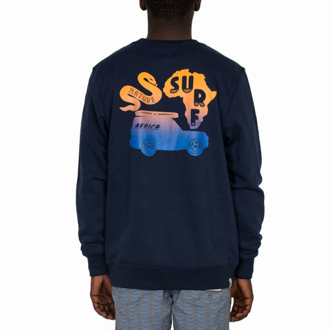 ASN Sweatshirt  - Navy