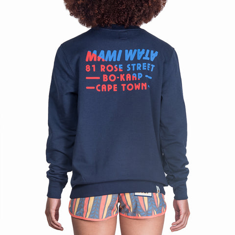 ROSE STREET SWEATSHIRT - NAVY