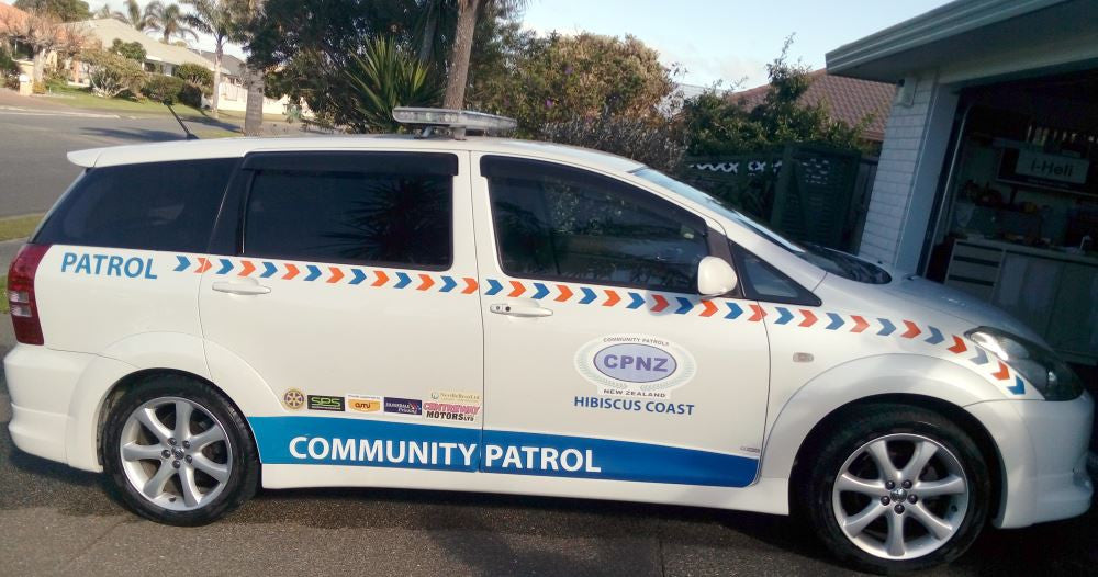 Vicovation Opia2 Installation for Hibiscus Coast Community Patrol