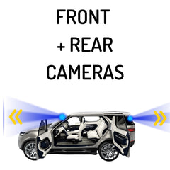 FRONT + REAR Dash Cams
