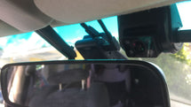 Front and Interior dash cam model Viofo A129 Duo IR installed