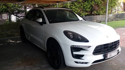Dash Cam Installed into 2017 Porsche Macan
