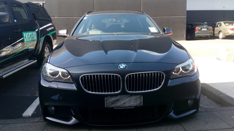 BMW 530D 2012 BlackVue DR650S-1CH (view from outside 1) in Auckland