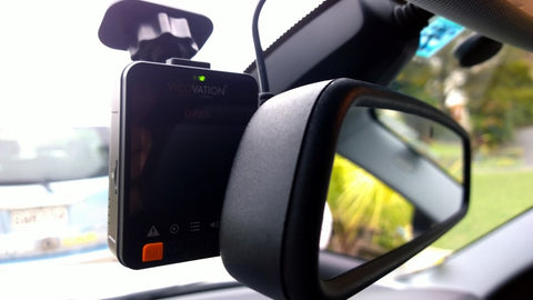 Vico-Opia2 Dash Cam Installed and Hardwired into 2011 BMW 120I by DriverCam Photo 1