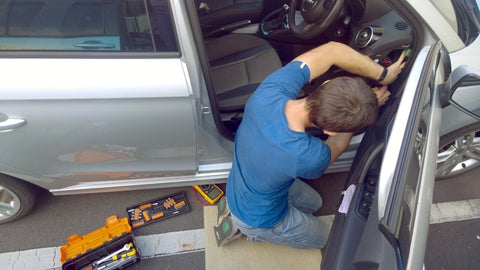 Dash Cam Installation Process Photo 2