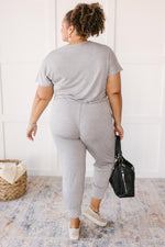Already Ready Jumpsuit in Grey