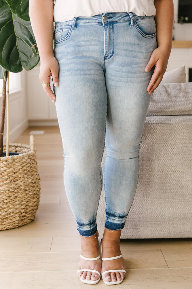 Melted Blues Light Wash Jeans