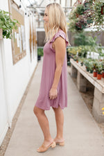 No Worries Dress in Lilac
