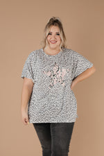 Star Of The Animal Show Top In Charcoal