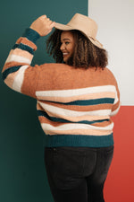 Striped Things And Winter Flings Sweater