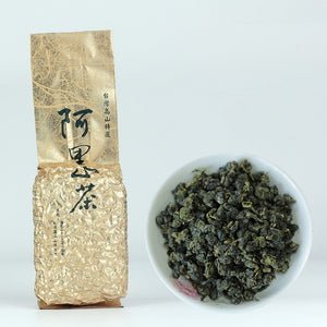 Premium Taiwan High Mountain Organic Green AliShan Oolong Tea - Hi+Chi