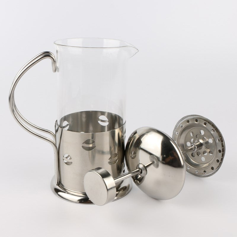 Stainless Steel French Press Tea Maker With Filter Double Wall - Hi+Chi