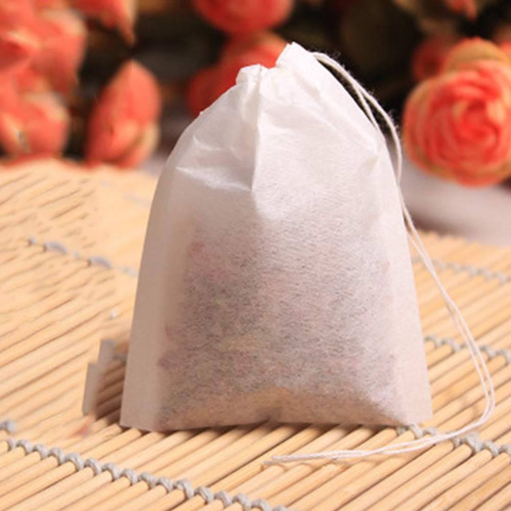100pcs Empty string heat seal teabags - Hi+Chi