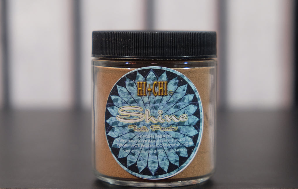 Shine Tooth Powder 2 Oz - Hi+Chi