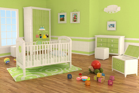 How to Set Up a Green Baby Nursery