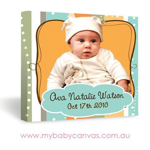 Custom Baby Canvas Here's Looking At You