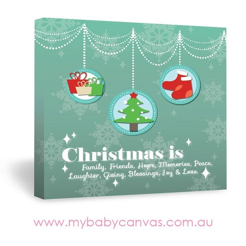 Custom Baby Canvas The Meaning of Christmas
