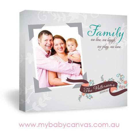 Custom Baby Canvas A Fun Family Treasure