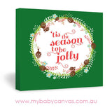 Custom Baby Canvas Jolly Season