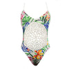 Flora Crochet thong one piece swimsuit, Swimsuit - Just Trendy