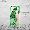 Soft Silicone Plants Cactus Banana Leaves Case For iphone 6 6S 5 5s SE 7 7Plus, Phone Accessories - Just Trendy