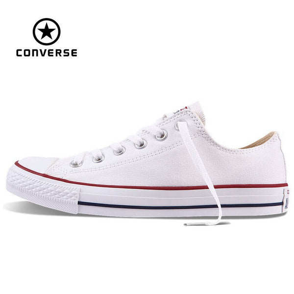 a0aa5c74dd1f Original Converse Low Classic All Star canvas shoes Men and Women