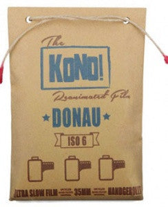DONAU 6 – ULTRA SLOW FILM - STRICTLY LIMITED (3-pack) - KONO The Reanimated Film Analogue Photography Film